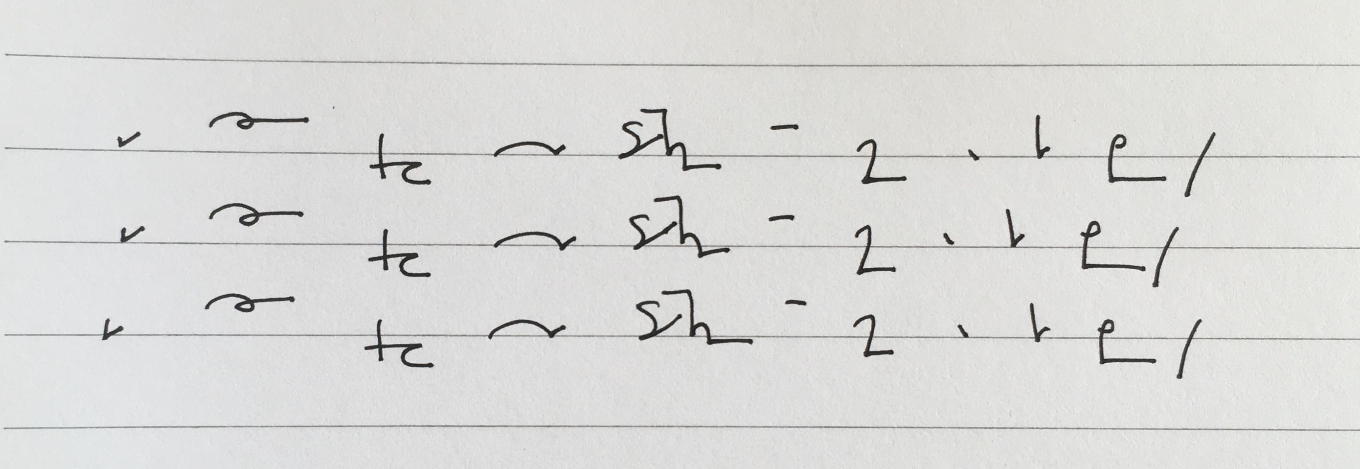 Easy Teeline Shorthand Sentences