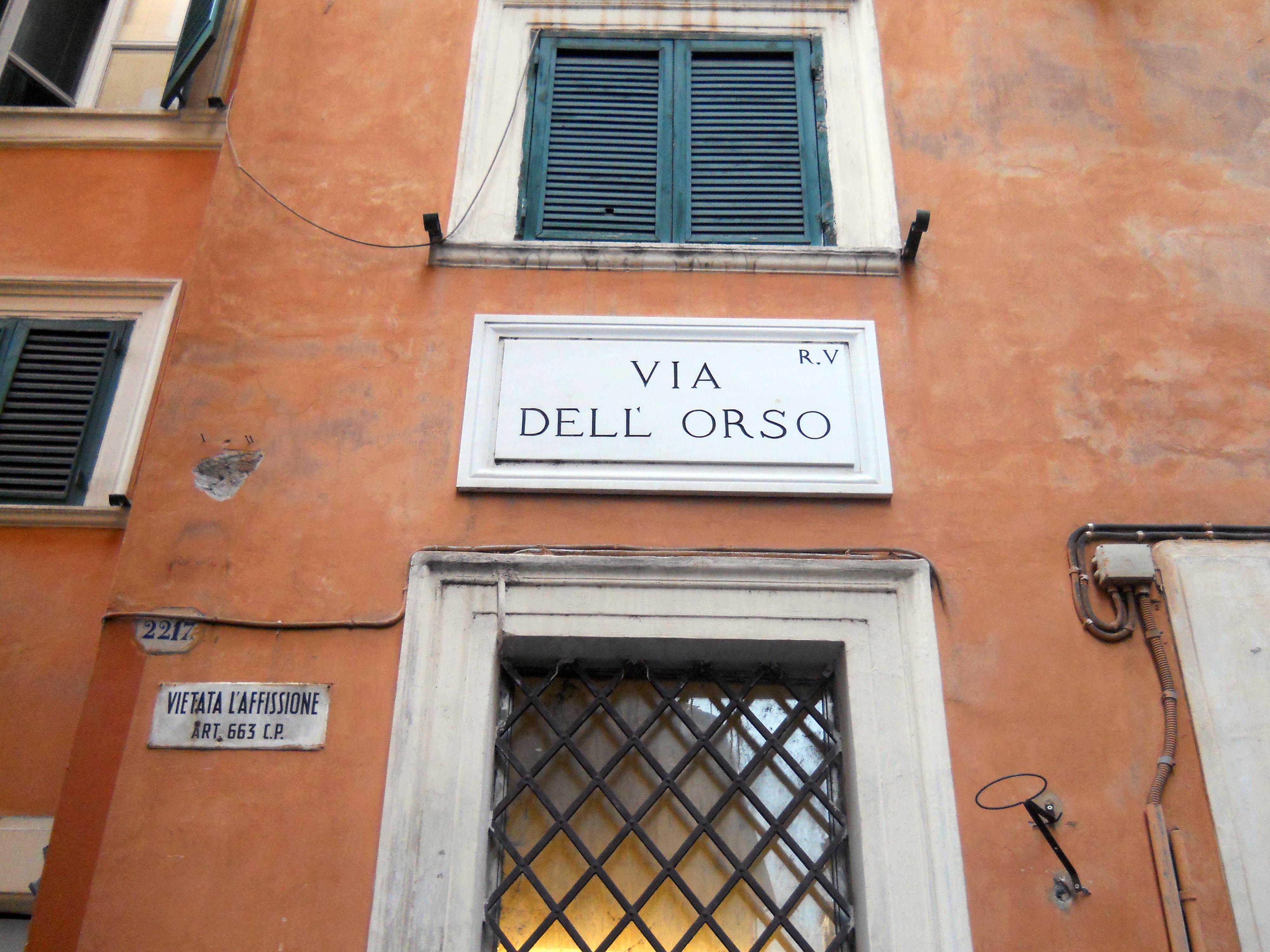Via Dell Orso