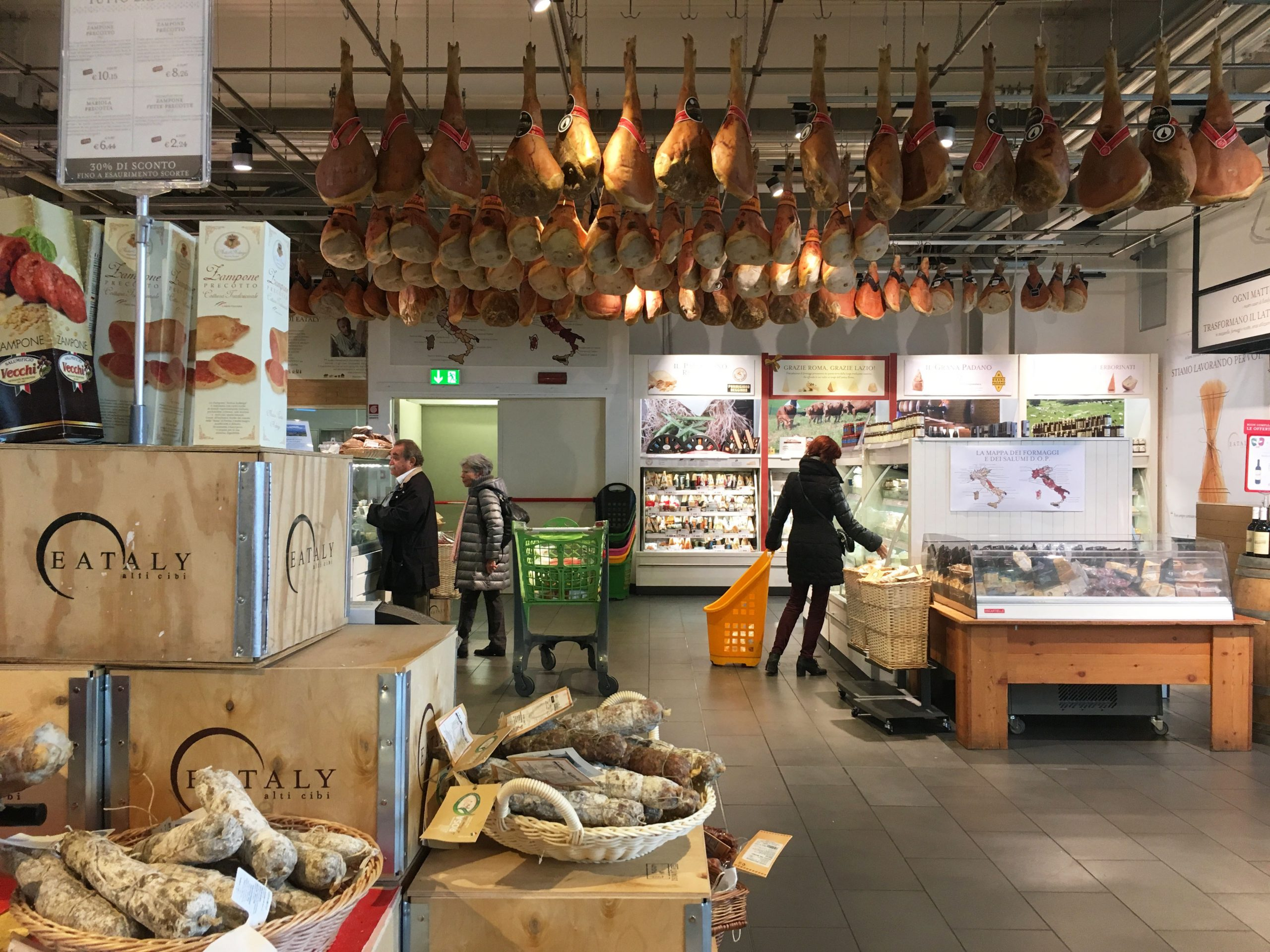 Eataly food store Rome