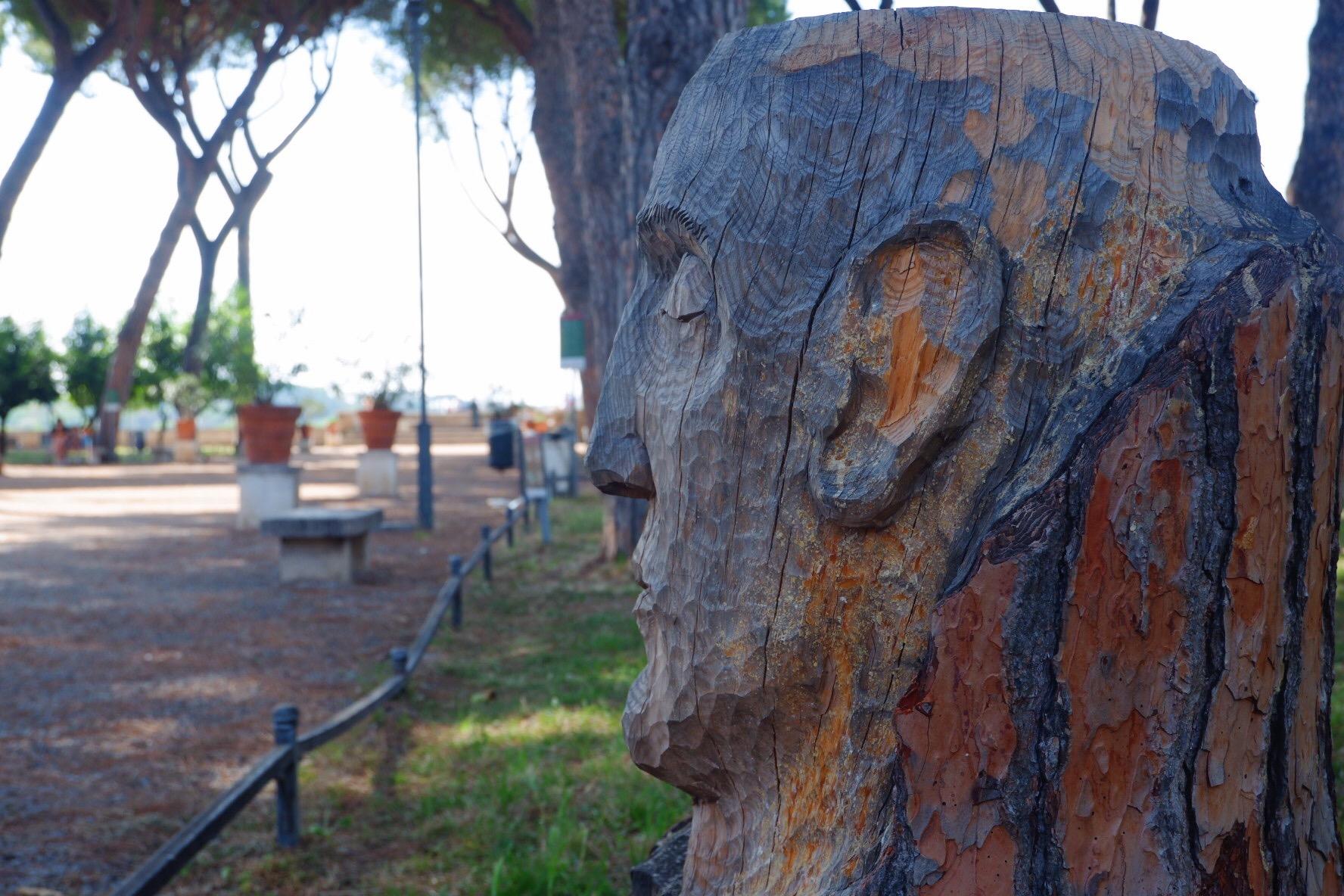 Andrea Gandini sculpture Orange Garden