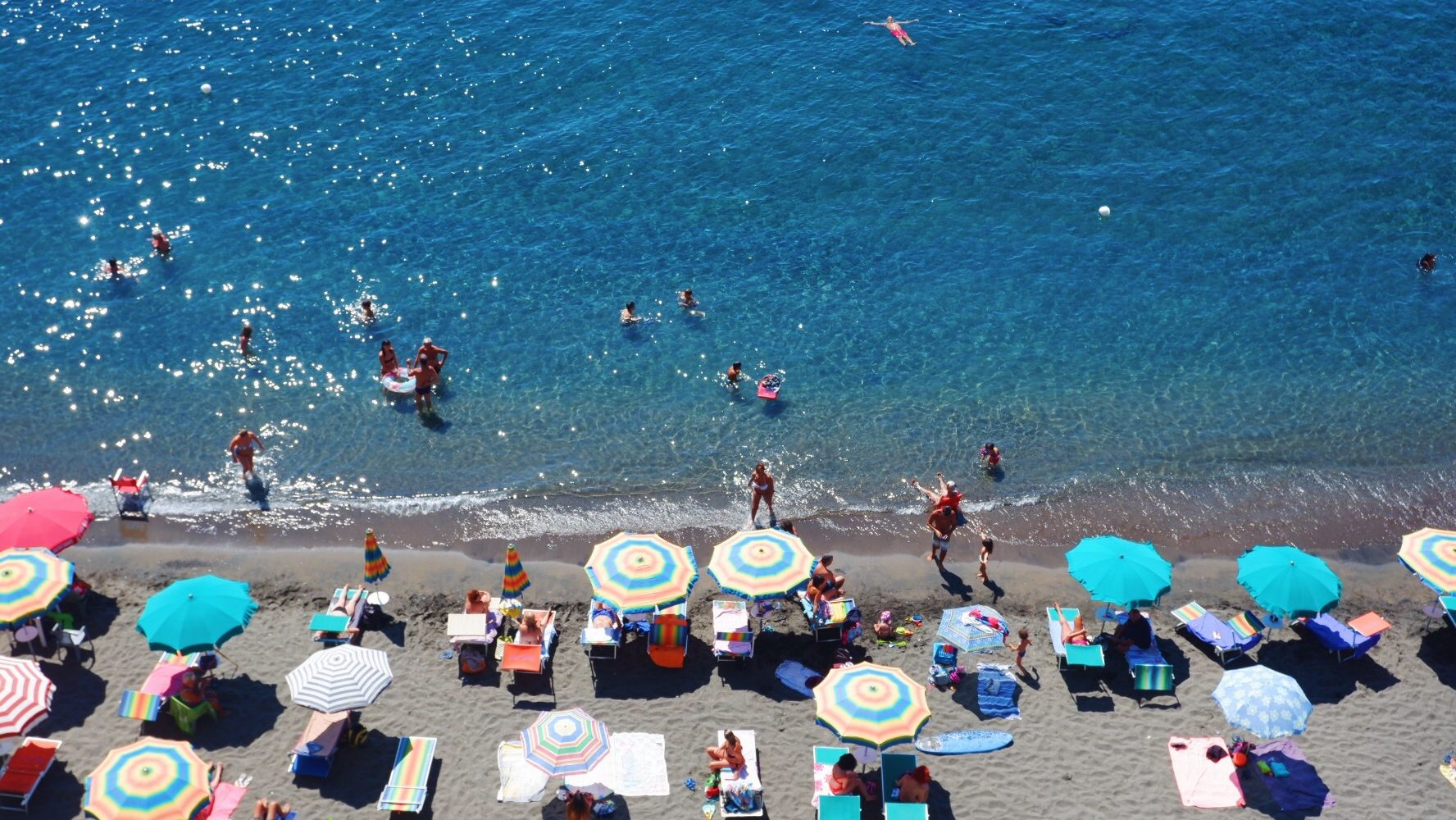 Ventotene Beach