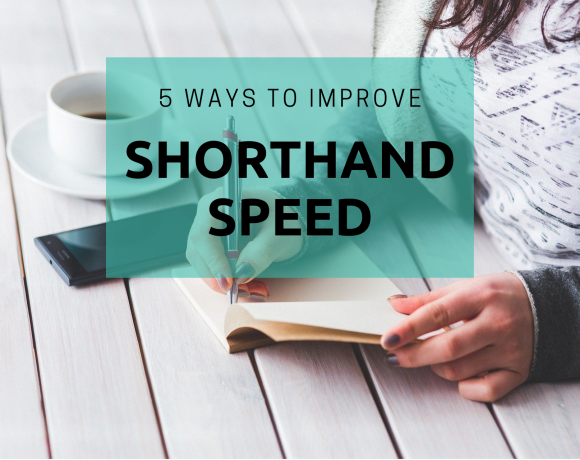 How to improve shorthand speed
